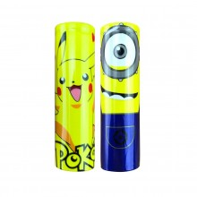 Cartoons series 18650 battery PVC wraps - heat shrink