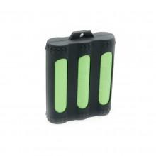 3 x Silikon 18650 Batteriegehäuse , Schutzhülle - beste Qualität, beste Farben, authentische VampCase