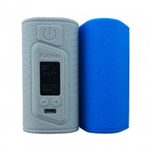SIGELEI FUCHAI DUO-3 - 3 batteries - silicone case, skin, cover - best quality, best colours