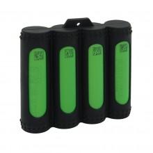 4 x Silikon 18650 Batteriegehäuse , Schutzhülle - beste Qualität, beste Farben, authentische VampCase