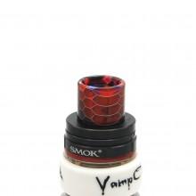 Honeycomb drip tip for Smok TFV8, Smok TFV8 Big Baby, Smok TFV12, Goon RDA, Kennedy 22/24 RDA, Limitless Plus RDTA