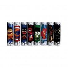 VST Super Heroes 18650 Akku PVC Schrumpfschlauch